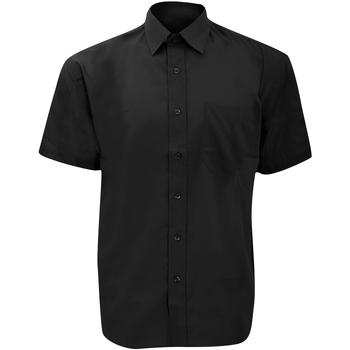 Abbigliamento Uomo Camicie maniche corte Russell 935M Nero