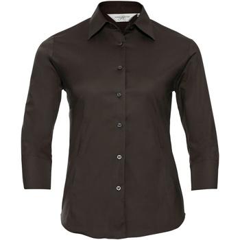 Abbigliamento Donna Camicie Russell 946F Cioccolato