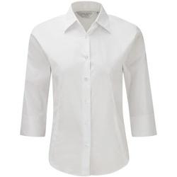 Abbigliamento Donna Camicie Russell 946F Bianco