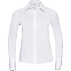 Abbigliamento Donna Camicie Russell Ultimate Bianco