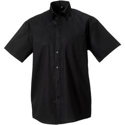 Abbigliamento Uomo Camicie maniche corte Russell 957M Nero