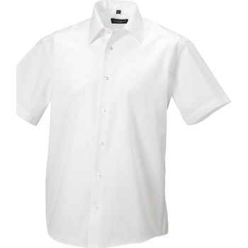 Abbigliamento Uomo Camicie maniche corte Russell 959M Bianco