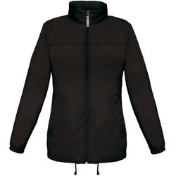 Abbigliamento Donna giacca a vento B And C JW902 Nero
