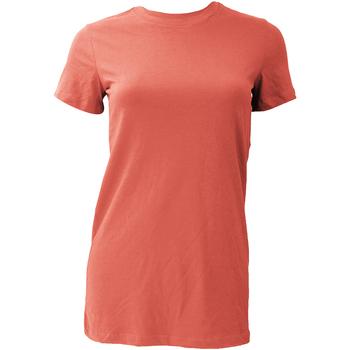 Abbigliamento Donna T-shirt maniche corte Bella + Canvas BE6004 Corallo