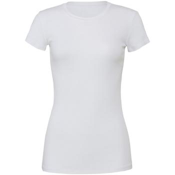 Abbigliamento Donna T-shirt maniche corte Bella + Canvas BE6004 Bianco
