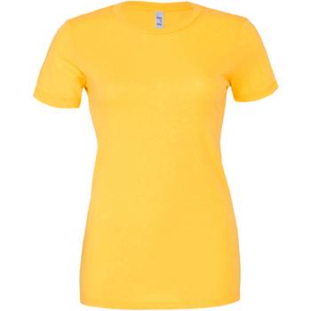 Abbigliamento Donna T-shirt maniche corte Bella + Canvas BE6004 Giallo