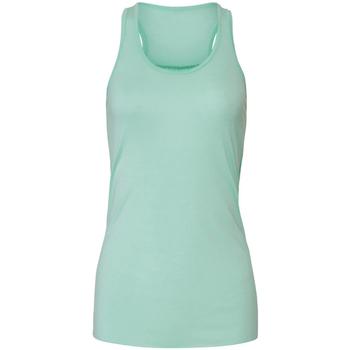 Abbigliamento Donna Top / T-shirt senza maniche Bella + Canvas BE8800 Verde menta