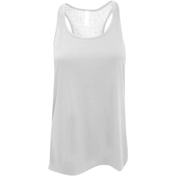 Abbigliamento Donna Top / T-shirt senza maniche Bella + Canvas BE8800 Bianco