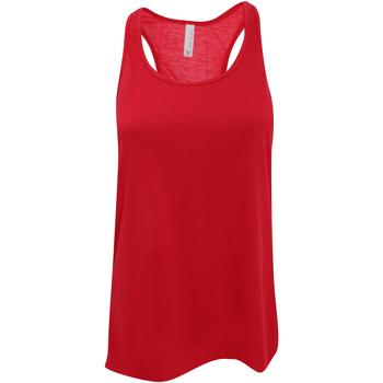Abbigliamento Donna Top / T-shirt senza maniche Bella + Canvas BE8800 Rosso