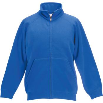 Abbigliamento Unisex bambino Giacche sportive Fruit Of The Loom 62005 Blu reale