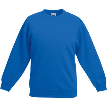 Abbigliamento Unisex bambino Felpe Fruit Of The Loom 62041 Blu reale