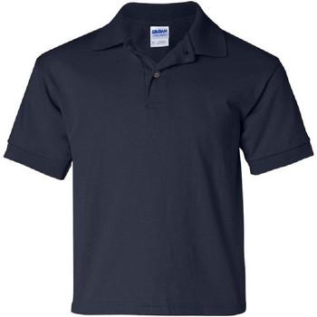 Abbigliamento Unisex bambino Polo maniche corte Gildan 8800B Blu navy