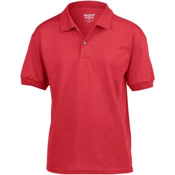 Abbigliamento Unisex bambino Polo maniche corte Gildan 8800B Rosso