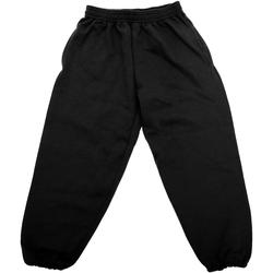 Abbigliamento Unisex bambino Pantaloni da tuta Jerzees Schoolgear 750B Nero