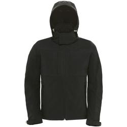Abbigliamento Uomo giacca a vento B And C JM950 Nero
