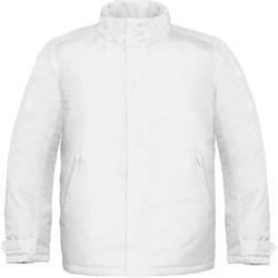 Abbigliamento Uomo giacca a vento B And C Real+ Bianco