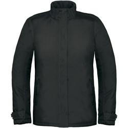 Abbigliamento Donna giacca a vento B And C Real+ Nero