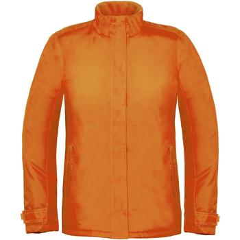 Abbigliamento Donna giacca a vento B And C Real+ Arancio