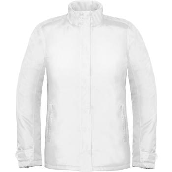 Abbigliamento Donna giacca a vento B And C Real+ Bianco