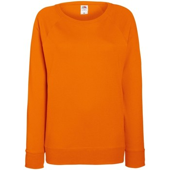 Abbigliamento Donna Felpe Fruit Of The Loom 62146 Arancio