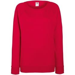 Abbigliamento Donna Felpe Fruit Of The Loom 62146 Rosso