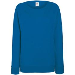 Abbigliamento Donna Felpe Fruit Of The Loom 62146 Blu reale