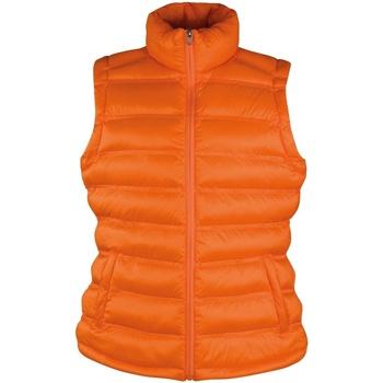Abbigliamento Donna Piumini Result Ice Bird Arancio