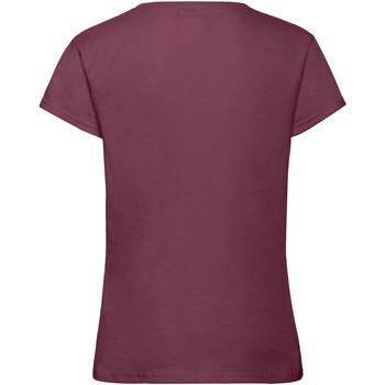Abbigliamento Bambina T-shirt maniche corte Fruit Of The Loom 61017 Bordeaux