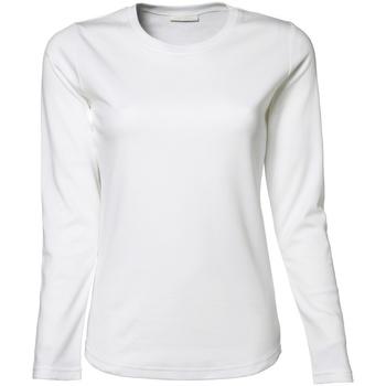 Abbigliamento Donna T-shirts a maniche lunghe Tee Jays TJ590 Bianco