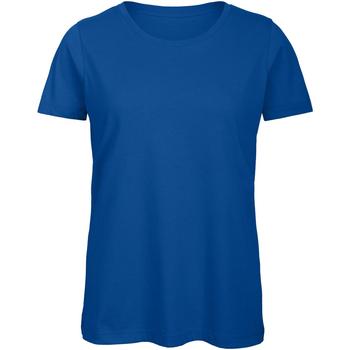 Abbigliamento Donna T-shirt maniche corte B And C TW043 Blu reale