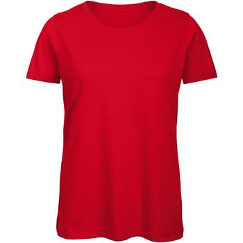 Abbigliamento Donna T-shirt maniche corte B And C TW043 Rosso