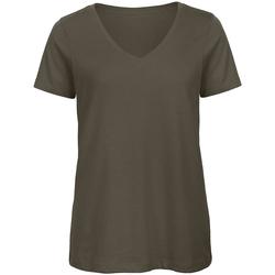 Abbigliamento Donna T-shirt maniche corte B And C Organic Polvere