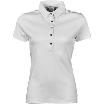Abbigliamento Donna Polo maniche corte Tee Jays Pima Bianco