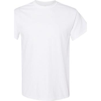Abbigliamento Uomo T-shirt maniche corte Gildan Heavy Bianco