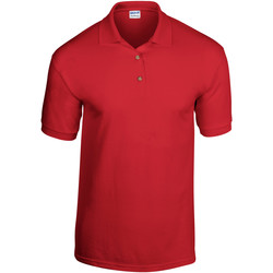 Abbigliamento Uomo Polo maniche corte Gildan 8800 Rosso