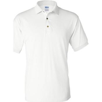 Abbigliamento Uomo Polo maniche corte Gildan 8800 Bianco