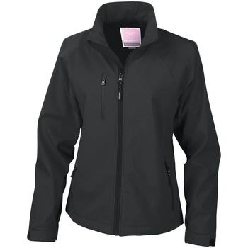 Abbigliamento Donna giacca a vento Result Breathable Nero