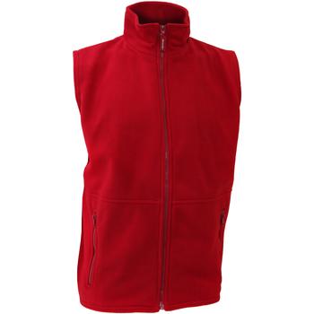 Abbigliamento Uomo Gilet / Cardigan Result R37X Rosso