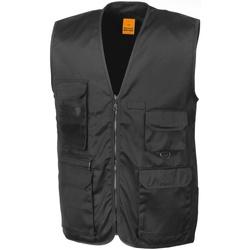 Abbigliamento Uomo Gilet / Cardigan Result R45X Nero