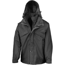 Abbigliamento Uomo giacca a vento Result R68X Nero