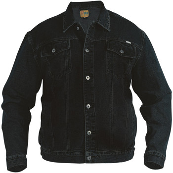 Abbigliamento Uomo Giacche in jeans Duke  Nero