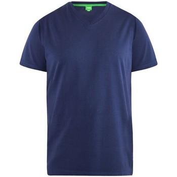 Abbigliamento Uomo T-shirt maniche corte Duke  Blu navy