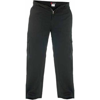 Abbigliamento Uomo Pantalone Cargo Duke  Nero