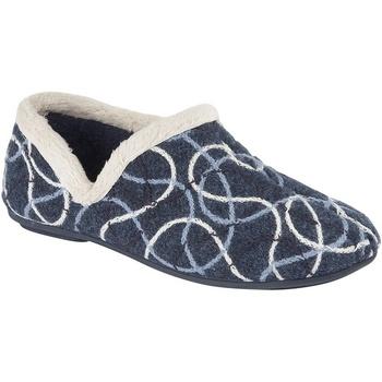 Scarpe Donna Pantofole Sleepers  Blu