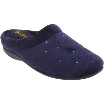 Scarpe Donna Pantofole Sleepers Charley Blu navy