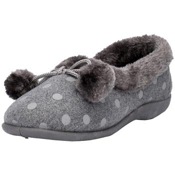 Scarpe Donna Pantofole Sleepers  Grigio