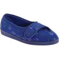 Scarpe Donna Pantofole Comfylux  Blu