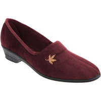 Scarpe Donna Pantofole Sleepers Andover Bordeaux