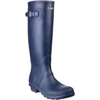 Scarpe Donna Stivali da pioggia Cotswold Sandringham Blu navy