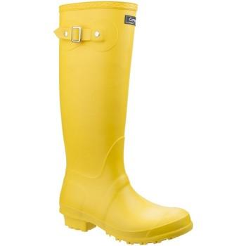 Scarpe Donna Stivali da pioggia Cotswold Sandringham Giallo